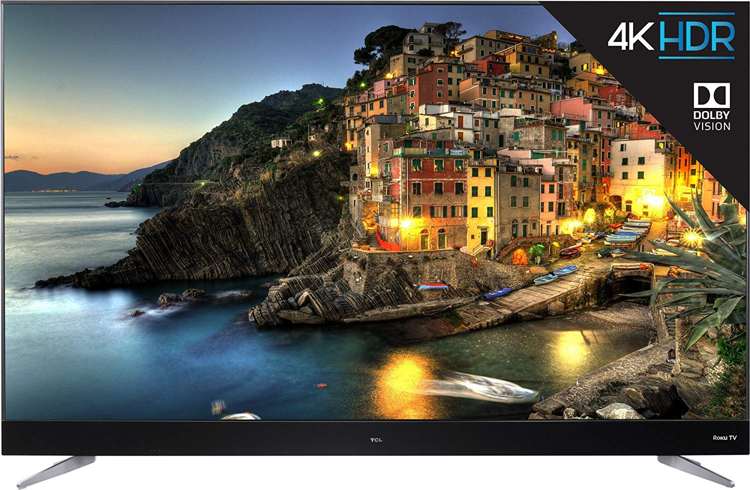 An image of TCL 55C807 55-Inch HDR 4K LED 120Hz TV