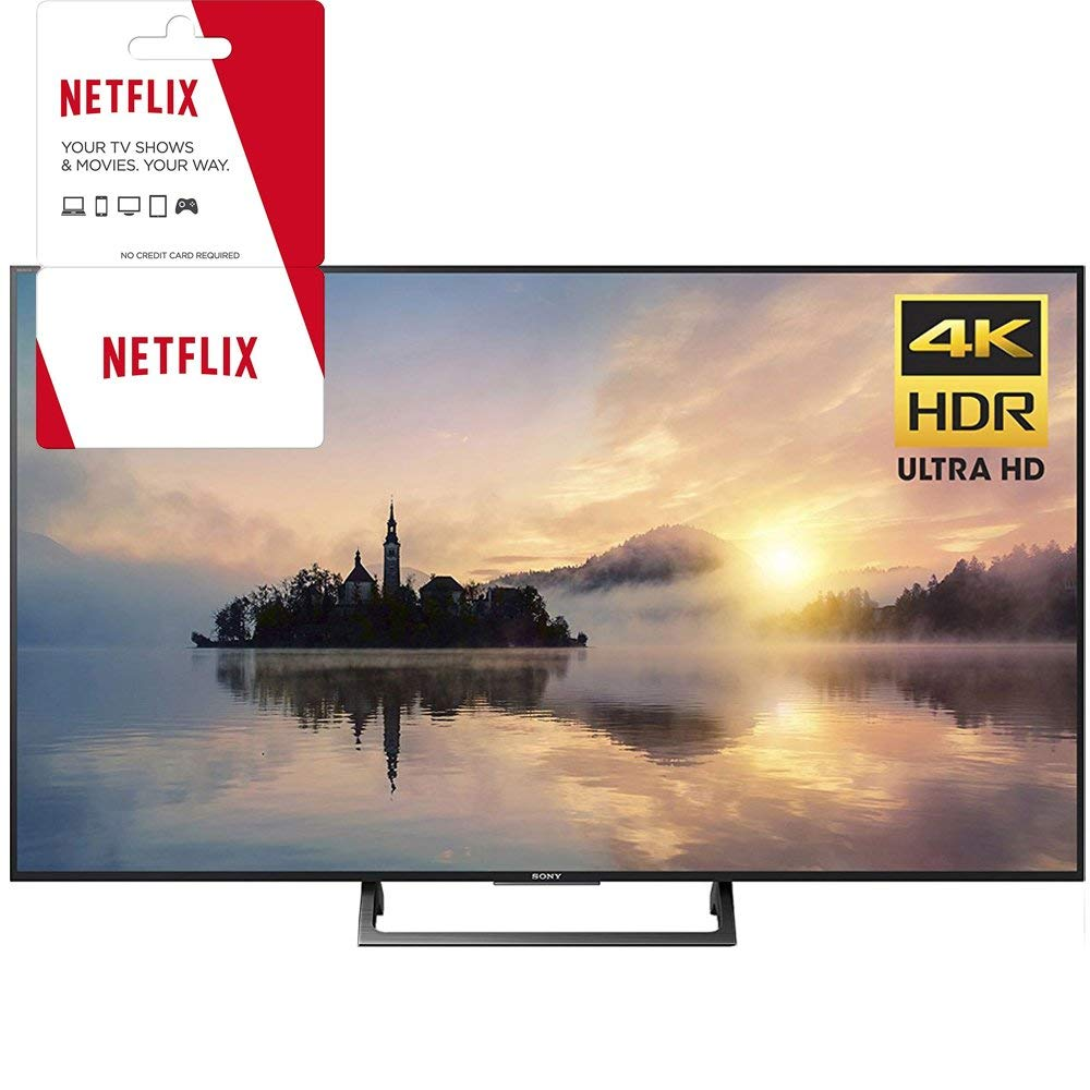 An image of Sony KD-55X720E 55-Inch HDR Flat Screen 4K LED 60Hz TV with Sony Motionflow XR