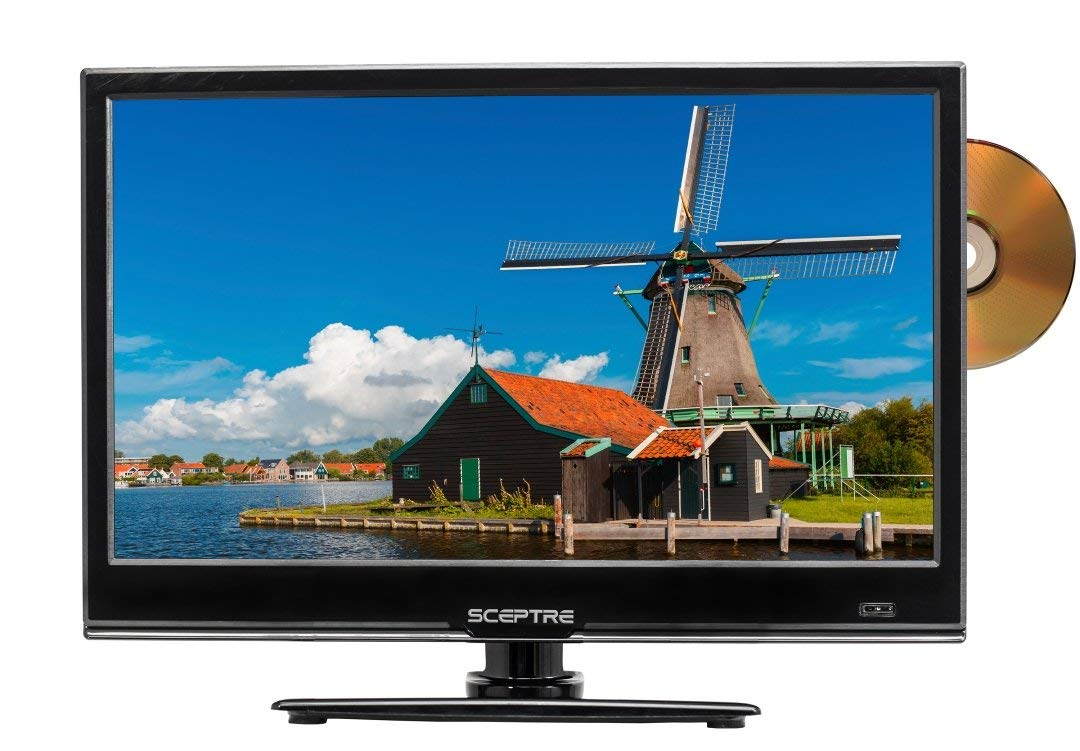 An image related to Sceptre E165BD-S 16-Inch HD LED TV