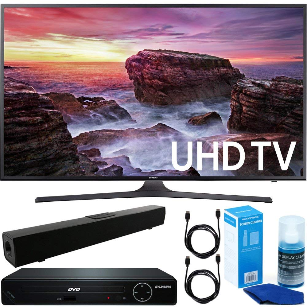 An image related to Samsung 6 UN40MU6290 40-Inch HDR Flat Screen 4K LED Smart TV with Motion Rate 120