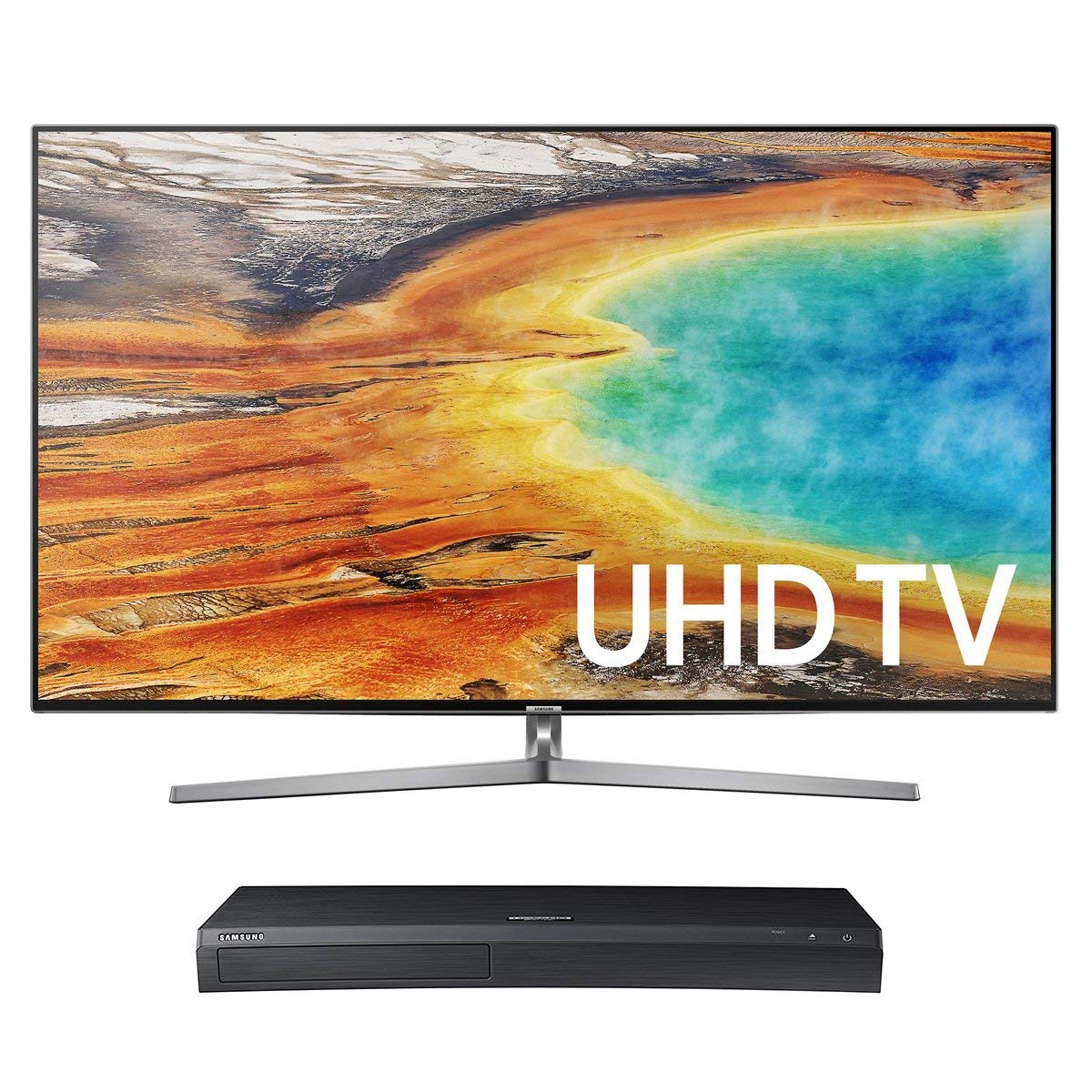 An image related to Samsung UN75MU9000 75-Inch HDR Flat Screen 4K TV with Samsung Motion Rate 240