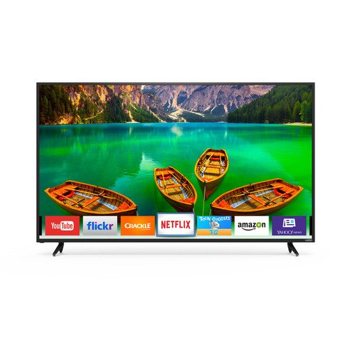 An image of VIZIO D-Series D65-E0 65-Inch Flat Screen 4K LED 120Hz TV with VIZIO Clear Action 180