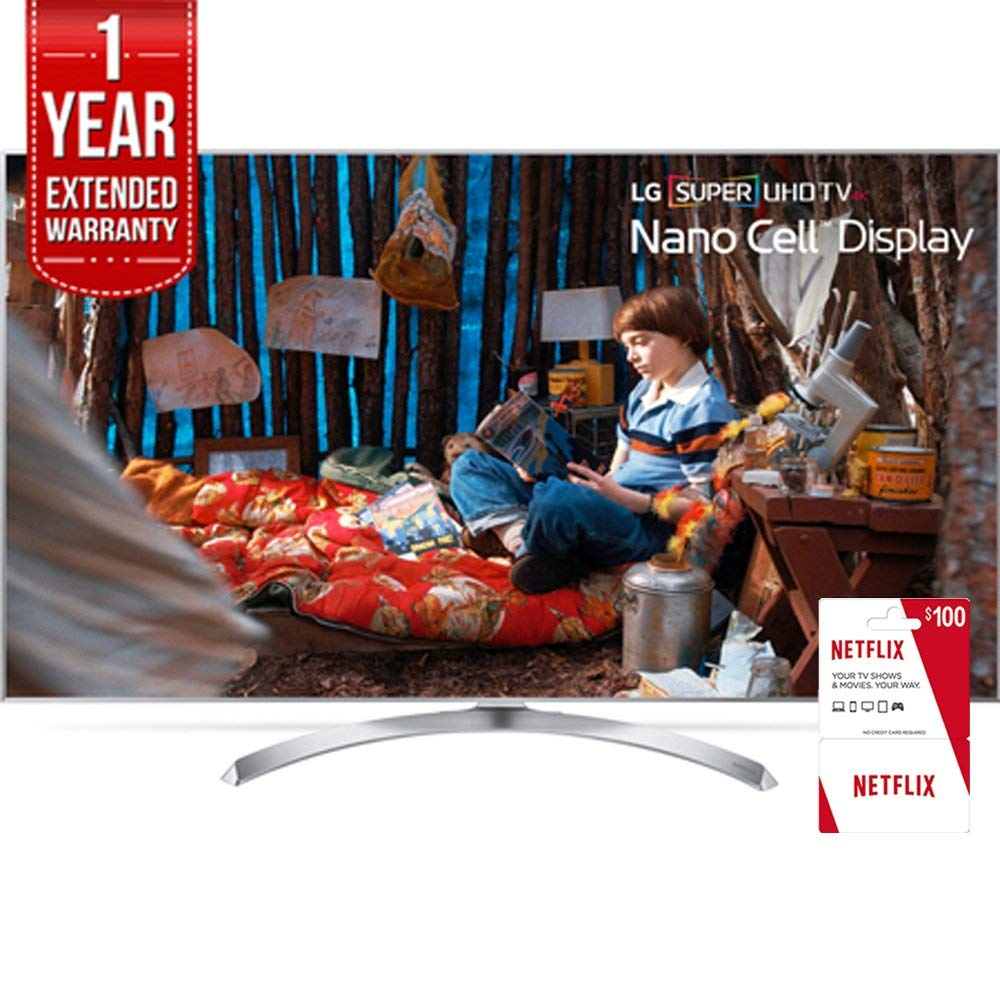 An image of LG 65SJ8000 65-Inch HDR Flat Screen 4K LED 120Hz Smart TV with LG TruMotion 240
