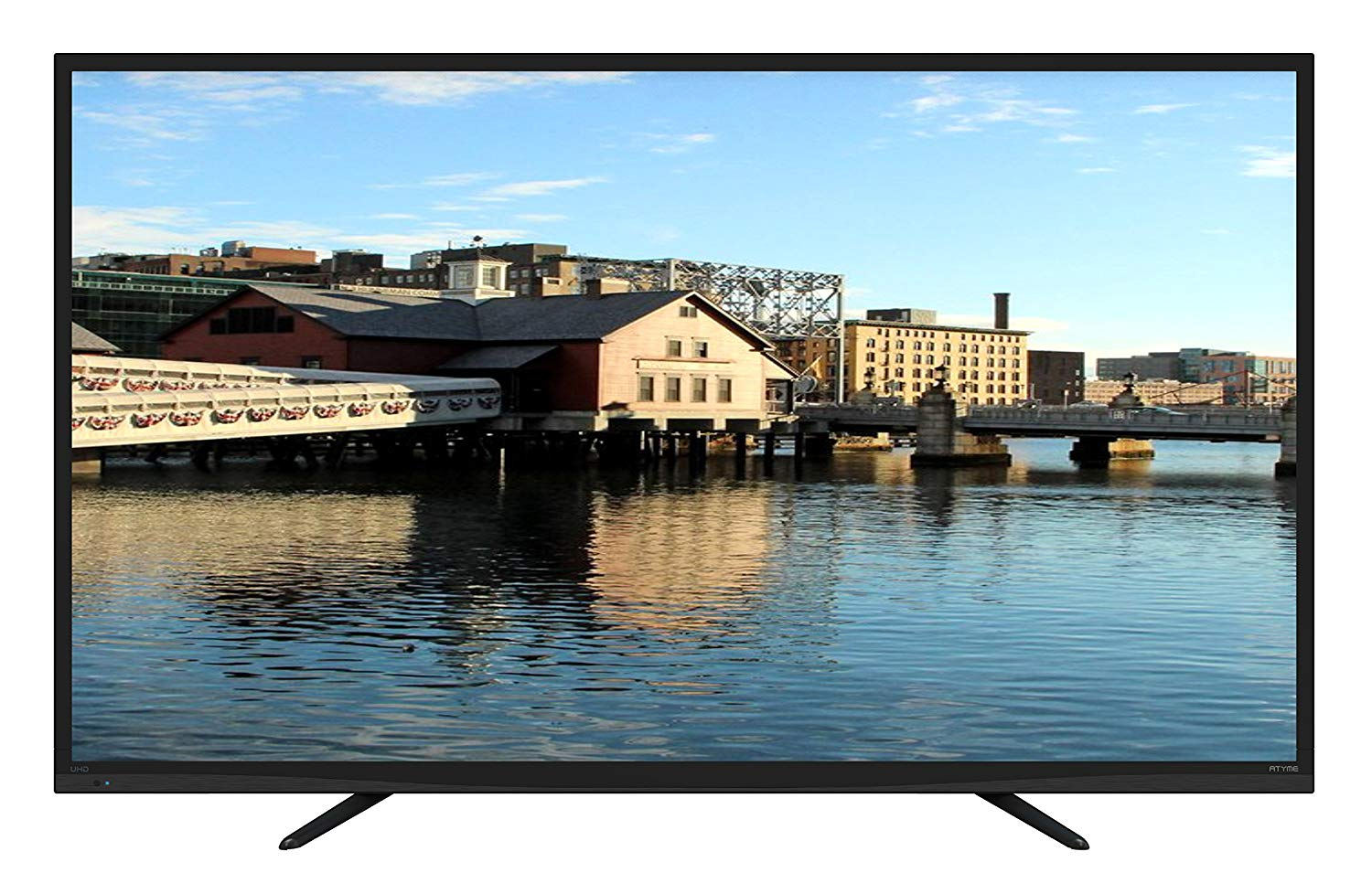 An image of ATYME 550AM7UD 55-Inch Flat Screen 4K LED 60Hz TV