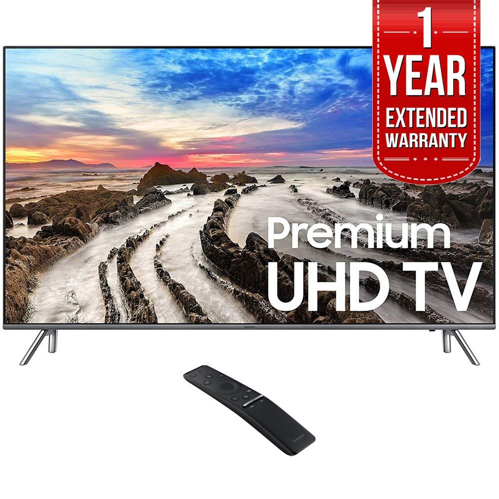 An image related to Samsung 8 Series E1SAMUN82MU8000 82-Inch HDR Flat Screen 4K LED TV with Samsung Motion Rate 240