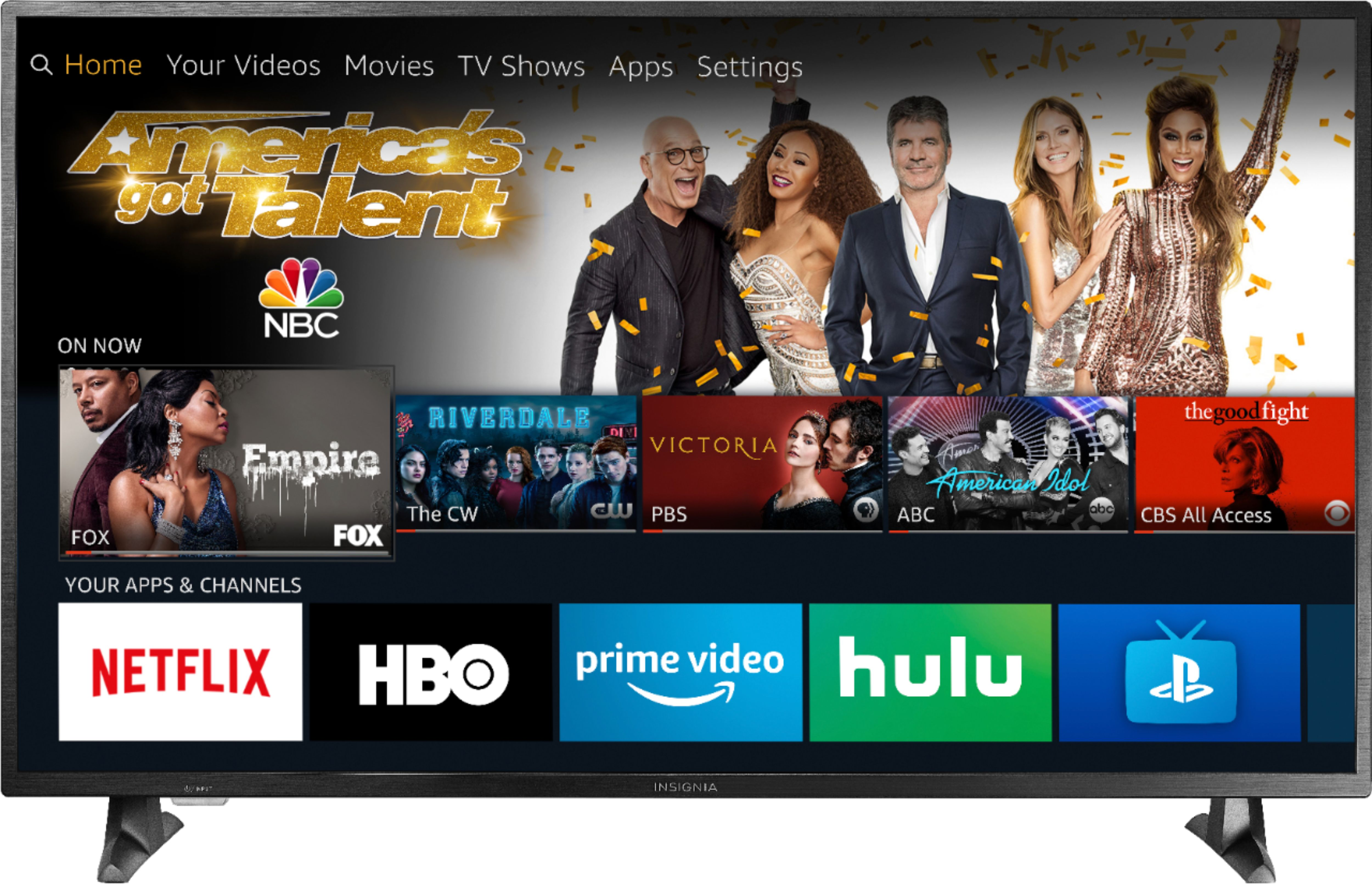 An image of Insignia NS-50DF710NA19 50-Inch HDR 4K LED 60Hz TV