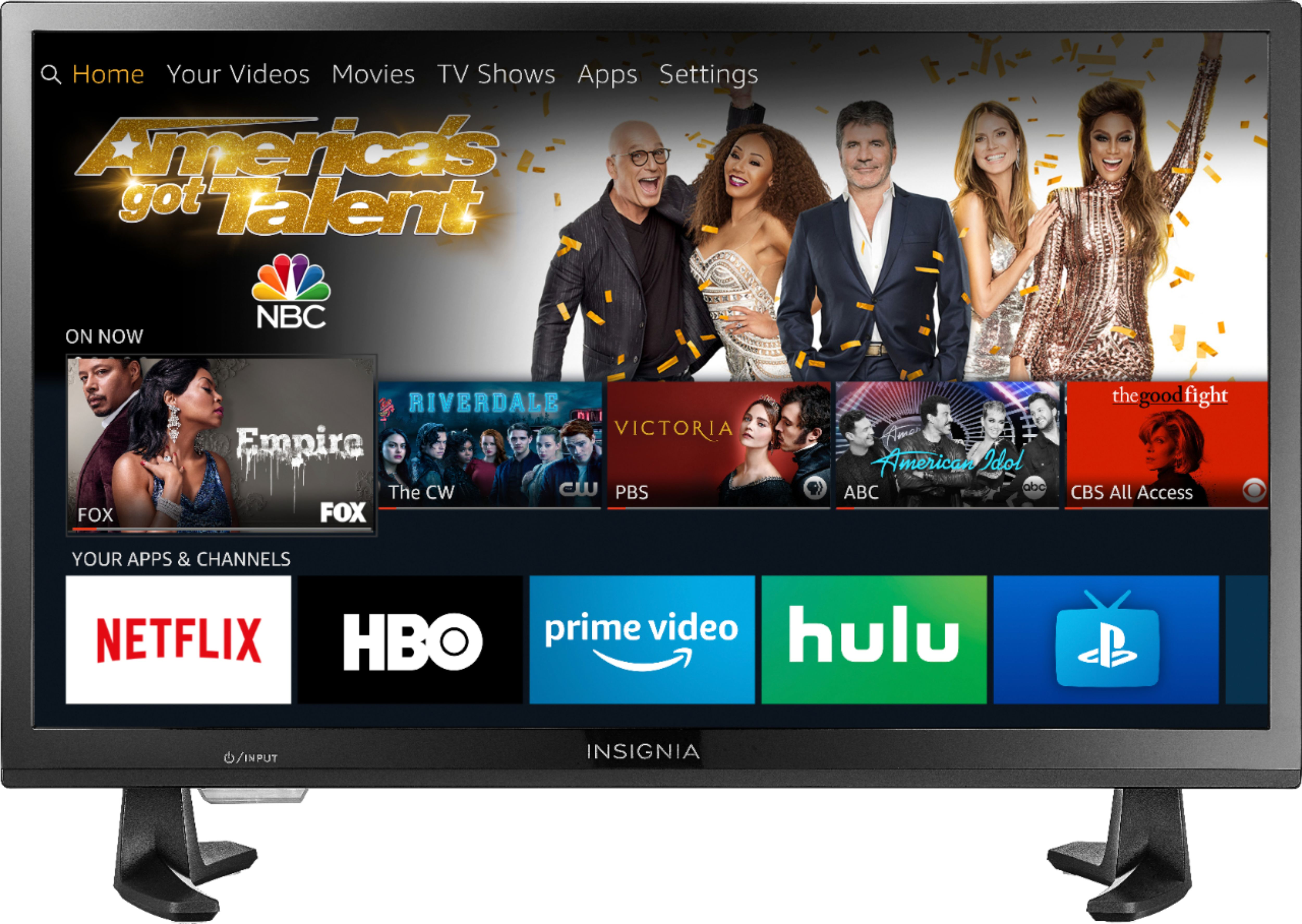 An image related to Insignia NS-24DF310NA19 24-Inch HD LED TV