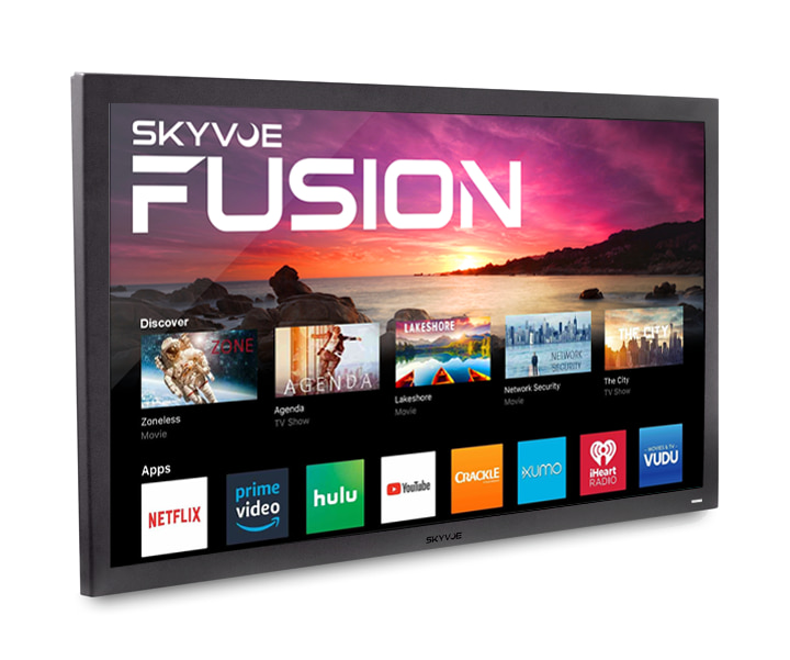 An image of Skyvue FSN-7518-4K 75-Inch HDR 4K Outdoor 120Hz TV