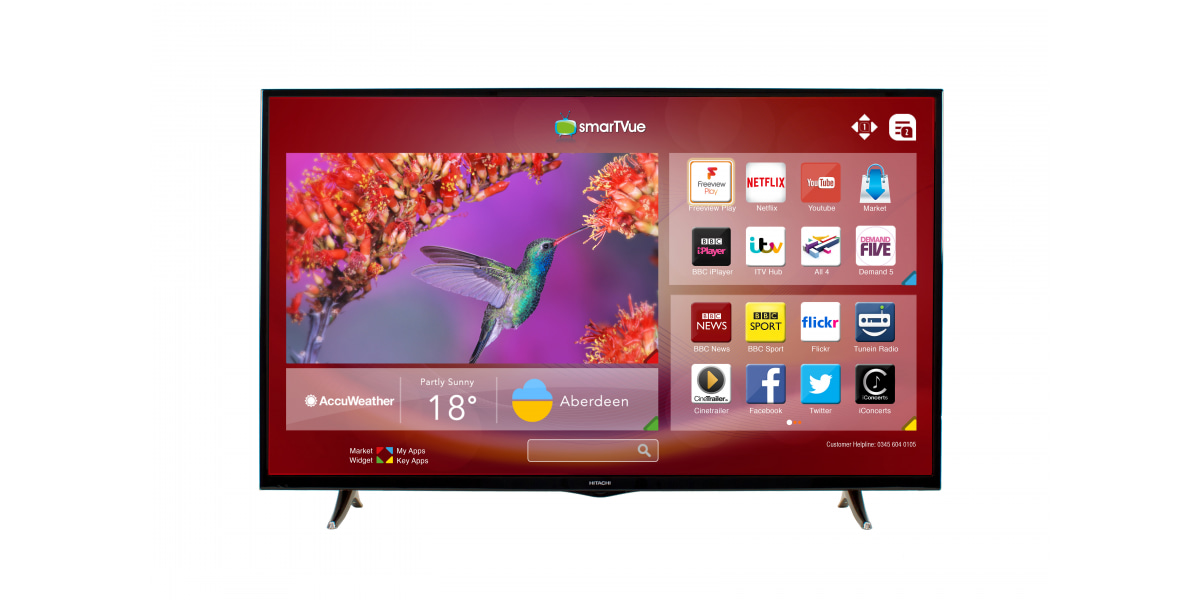 An image related to Hitachi 55HB6T72U 55-Inch FHD LED TV