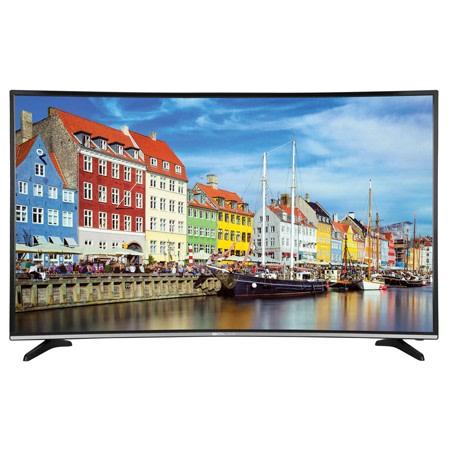 An image of Bolva TV55CSV02 55-Inch HDR Curved 4K LED 60Hz TV