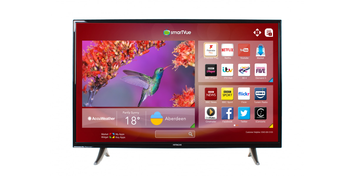 An image related to Hitachi 32HB6T61U 32-Inch HD LED TV