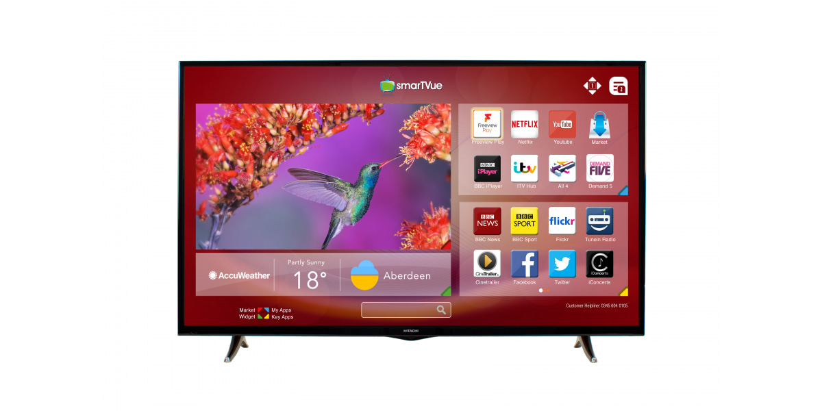 An image related to Hitachi 50HB6T72U 48-Inch FHD LED TV