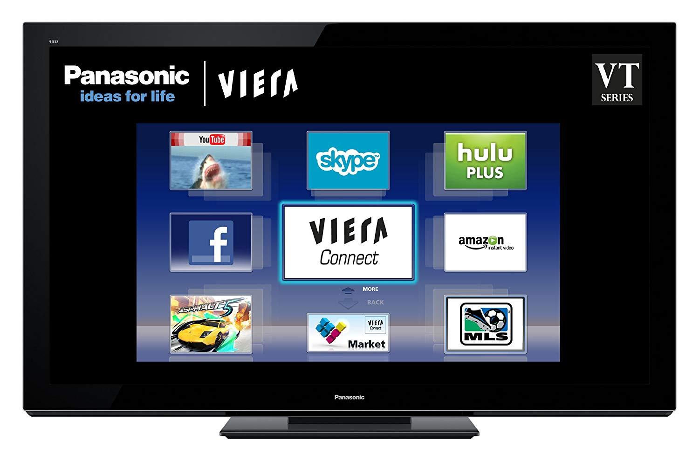 An image of Panasonic TC-P65VT30 65-Inch 3D HD Plasma TV