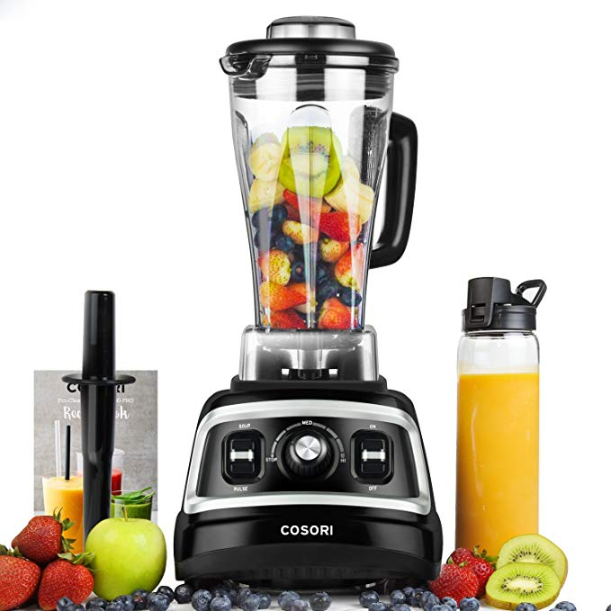 #2 rated in baby food: COSORI C700-PRO Black Variable Speed Dial 1500 W Baby Food Professional Blender, scored 86/100