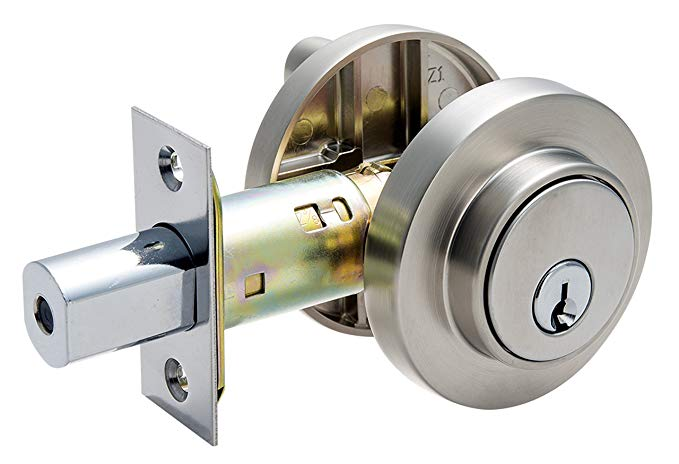 An image related to Pamex FDKP Brass Satin Nickel Lock