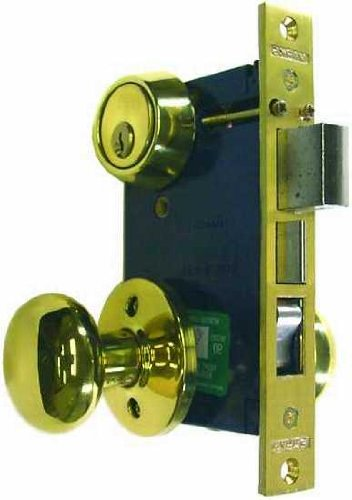 An image related to Marks 22AC/3-W-RHR Brass Polished Brass Door Lock