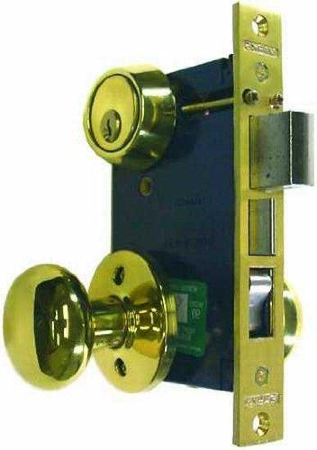 An image of Marks 22AC/3-W-RHR Brass Polished Brass Door Lock | Door Lock Guide