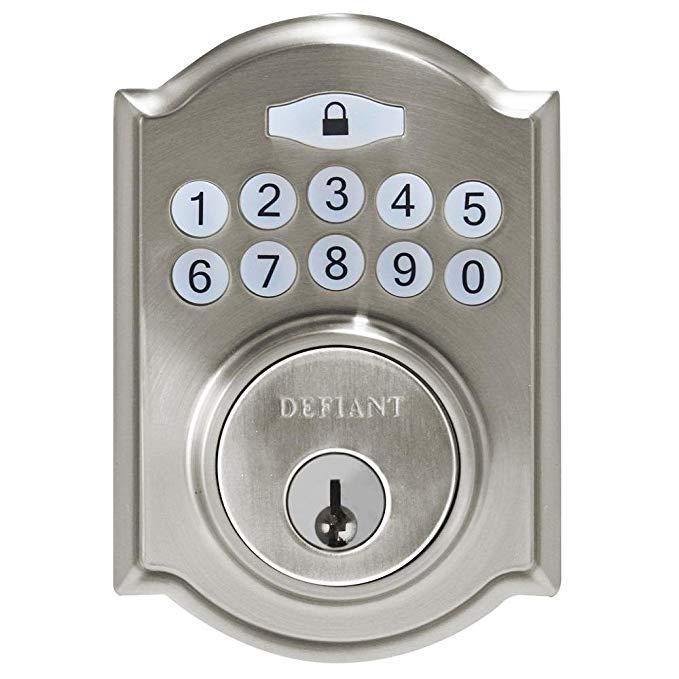 An image of Defiant 1001 392 551 Satin Lock | Door Lock Guide