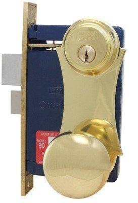 An image of Marks 21AC RH Brass Satin Lock | Door Lock Guide
