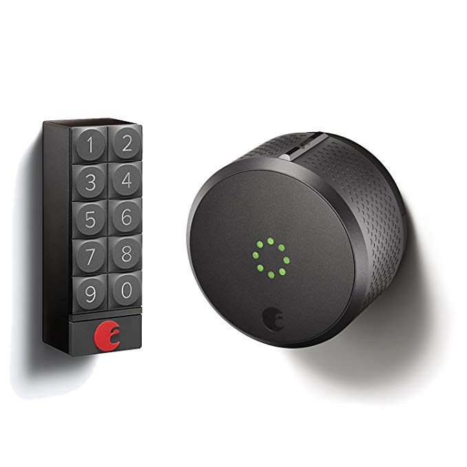 An image related to August AUG-SL02-K02-G01 Gray Door Lock