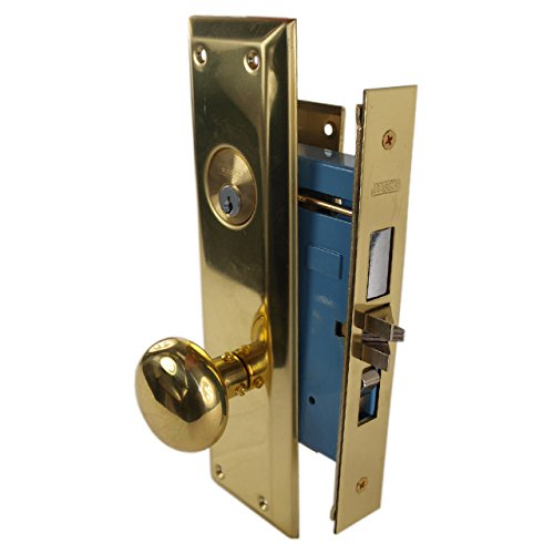 An image related to Marks 71A/3LH Entry Brass Polished Brass Lock