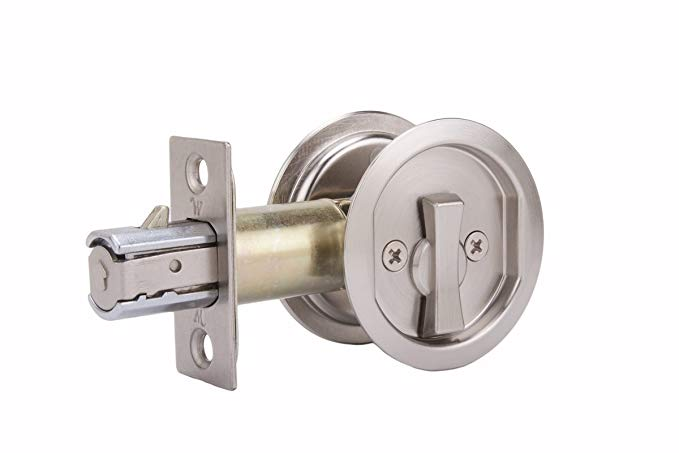 An image related to Weslock 00677XNXN Privacy Satin Nickel Lock