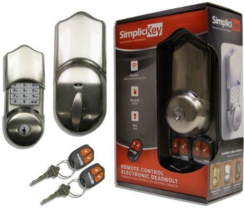 An image related to SimpliciKey SRCED-SN-2 Metal Satin Nickel Lock