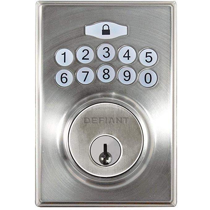 An image related to Defiant 1001825629 Entry Metal Satin Nickel Lock