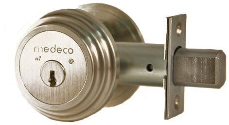 An image related to Medeco 11TR50319 Satin Nickel Lock
