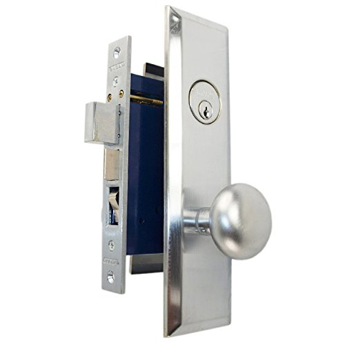 An image of Marks 114A/26D-RH Entry Chrome Effect Lock | Door Lock Guide