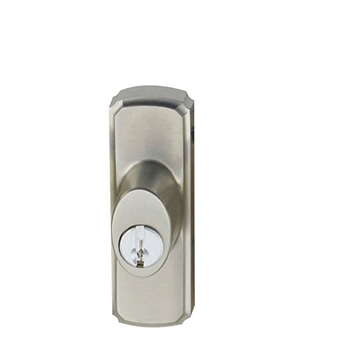 An image related to Andersen 2573073 Patio Satin Nickel Lock