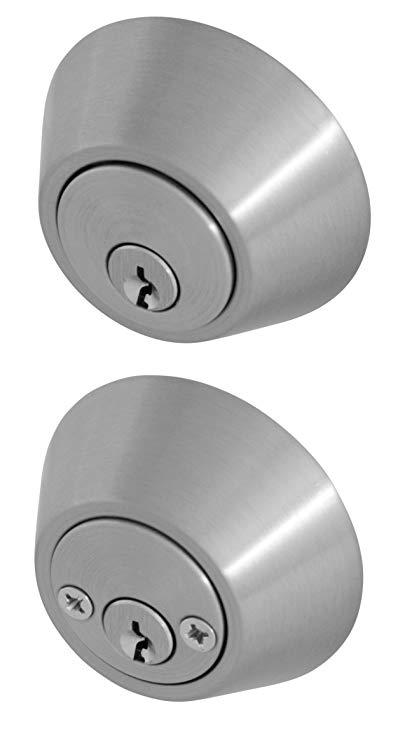 An image of Honeywell 8112309 Satin Nickel Lock