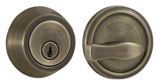An image of Weslock 00671-A-ASL23 Metal Brass Lock