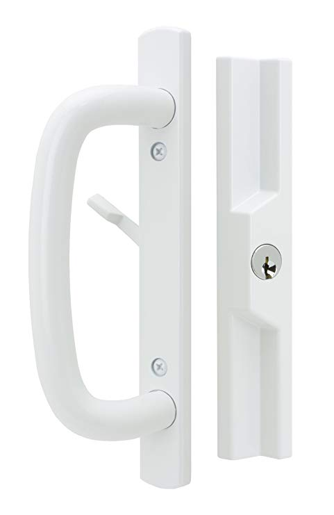 An image related to FPL Door Locks and Hardware Inc. VER-3-K-14-6-112-W White Lock