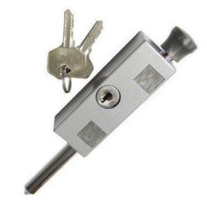 An image of Supply Guru 4046110 Patio Aluminum Lock