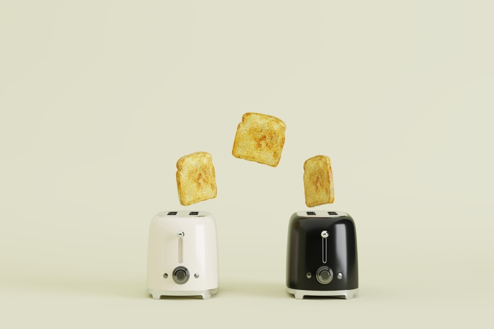 An image related to Reviewing Hamilton Beach Cool Touch Toasters