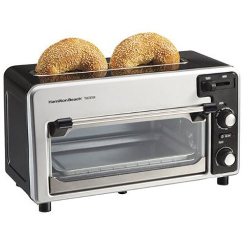 An image related to Hamilton Beach 22720 2-Slice Black Wide Slot Toaster