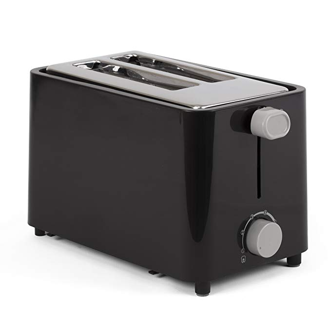 An image related to Westinghouse 2-Slice Black Cool Touch Wide Slot Toaster