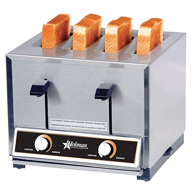 An image of Star TP409-120V 2600W Stainless Steel 7-Mode Wide Slot Toaster