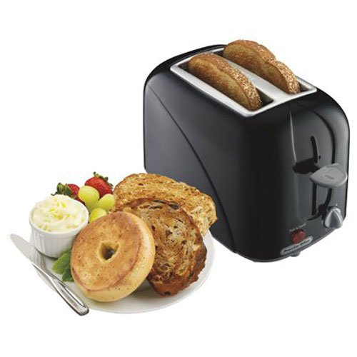 An image related to Proctor Silex 2-Slice Black Compact Cool Touch Toaster