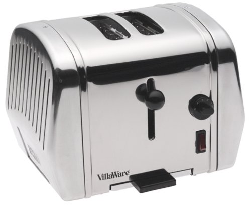 An image of VillaWare 2-Slice Classic 5-Mode Wide Slot Toaster