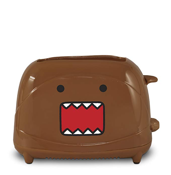 An image of Uncanny Brands TSTE-DMO-DDB Domo 2-Slice Compact Cool Touch Toaster