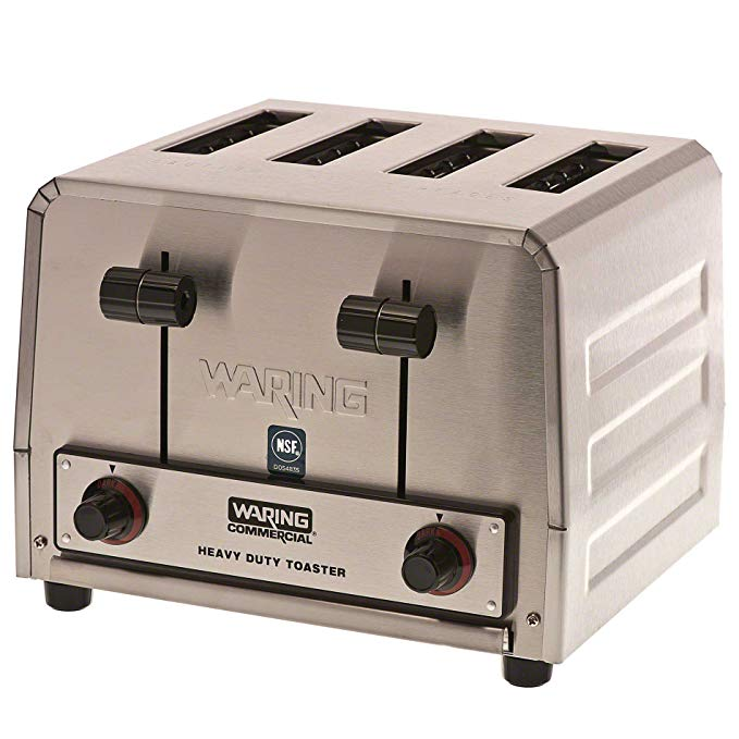 An image of Waring WCT800 Stainless Steel Long Slot Toaster