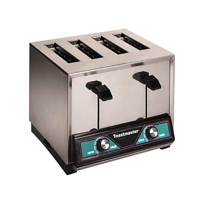 An image of Toastmaster TP424 240V Stainless Steel 4-Slice 7-Mode Toaster