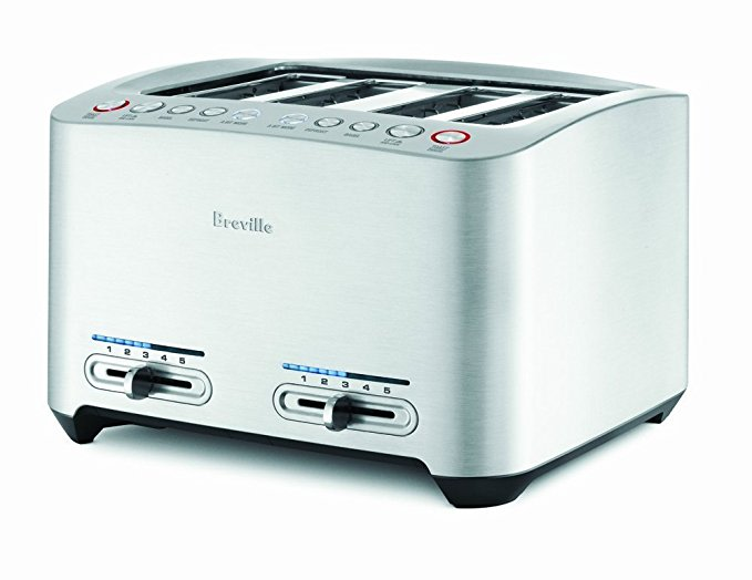 An image of Breville 1800W 4-Slice 5-Mode Wide Slot Toaster