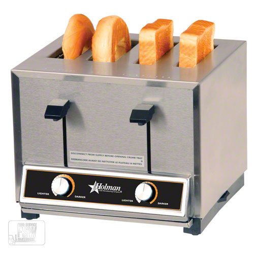 An image of Holman CT4 Stainless Steel Wide Slot Toaster