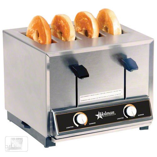 An image of Holman BT4 Stainless Steel Wide Slot Toaster