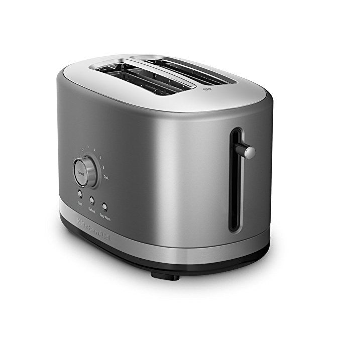 An image related to KitchenAid KMT2116CU 2-Slice Contour Silver 7-Mode Wide Slot Toaster