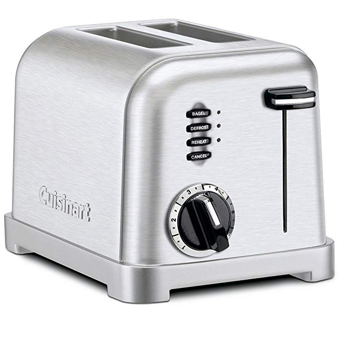 An image of Cuisinart Stainless Steel 2-Slice Classic 6-Mode Toaster