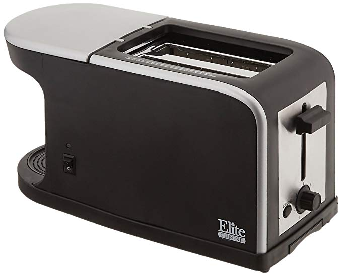 An image of Maxi-Matic 2-Slice Black 7-Mode Cool Touch Wide Slot Toaster